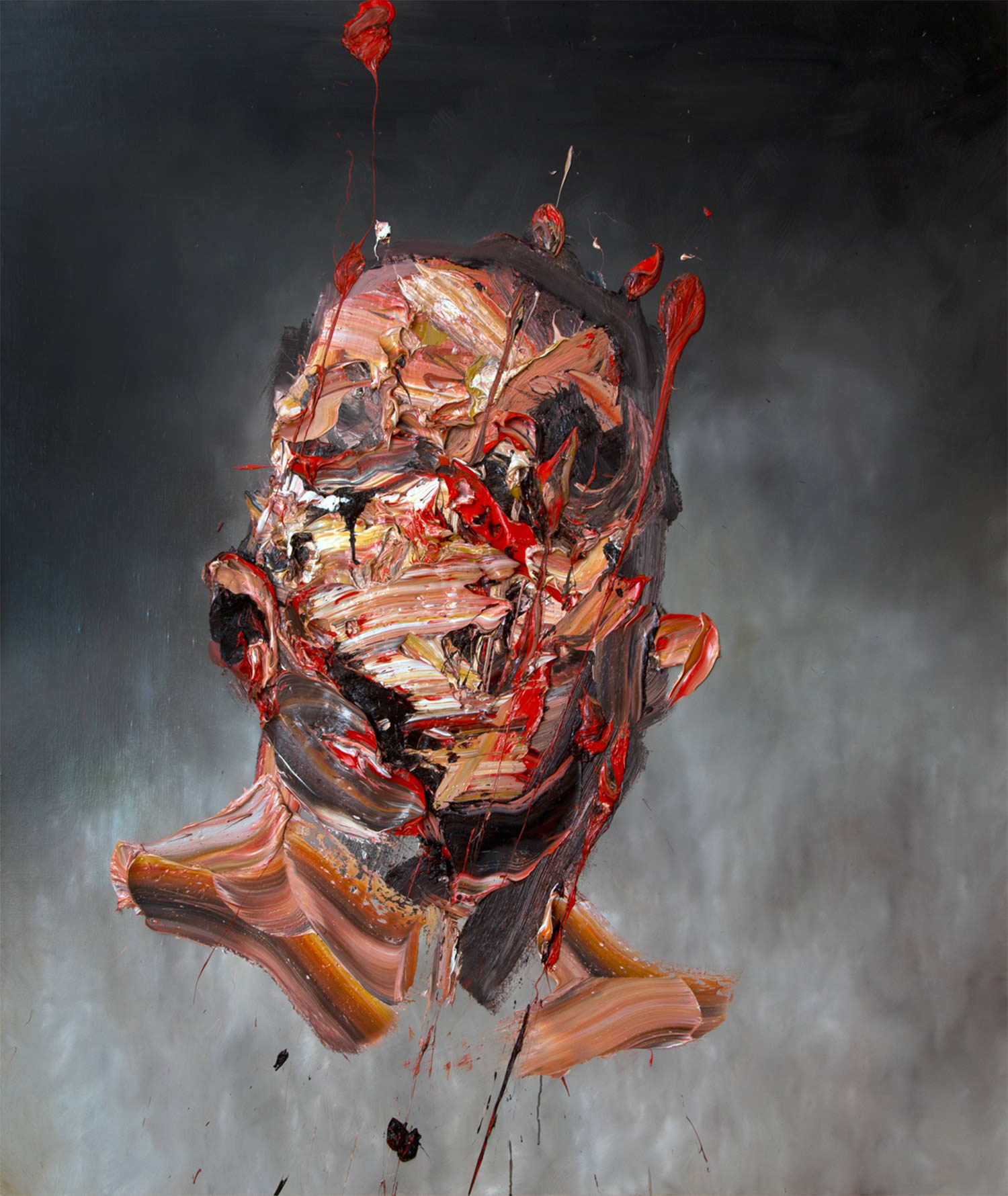 the self, painting by micallef
