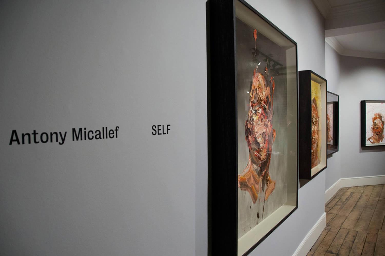 """micallef exhibition """"self"""" at  Lazarides Gallery"""
