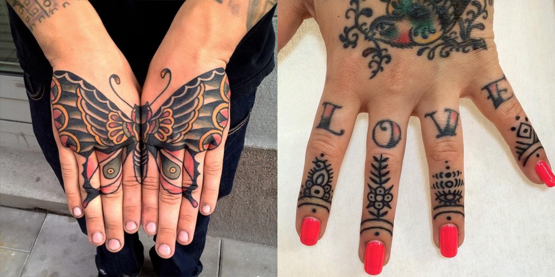 15 Popular Hand Tattoos Scene360