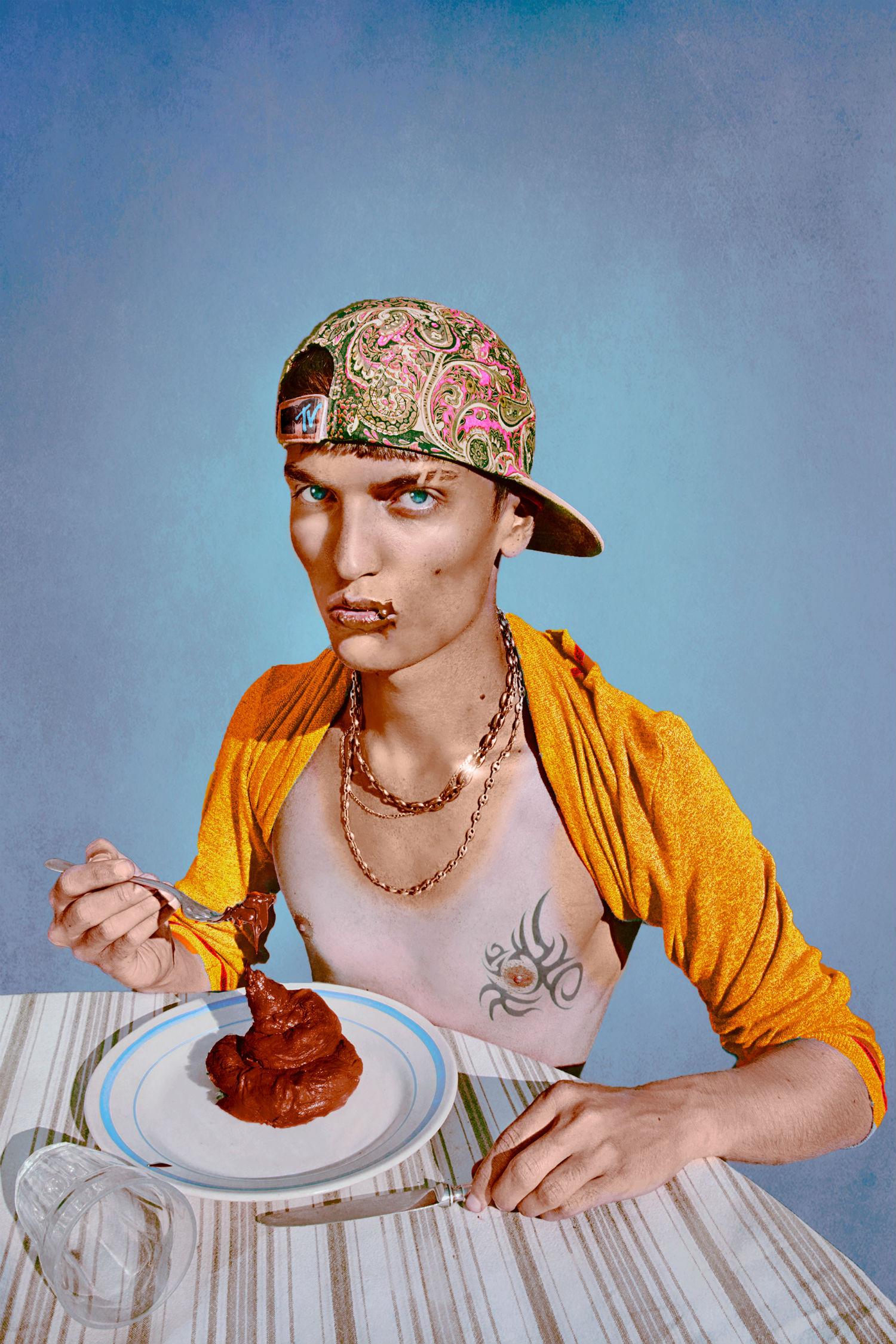 marwane pallas photographing graphic portraits body horror