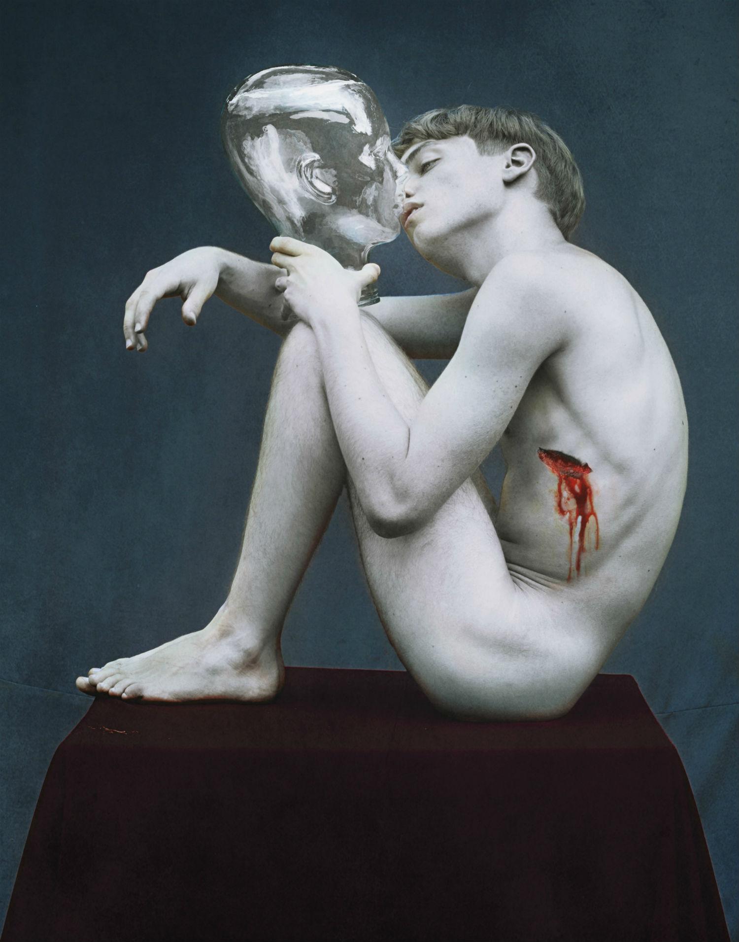 marwane pallas nude model wound