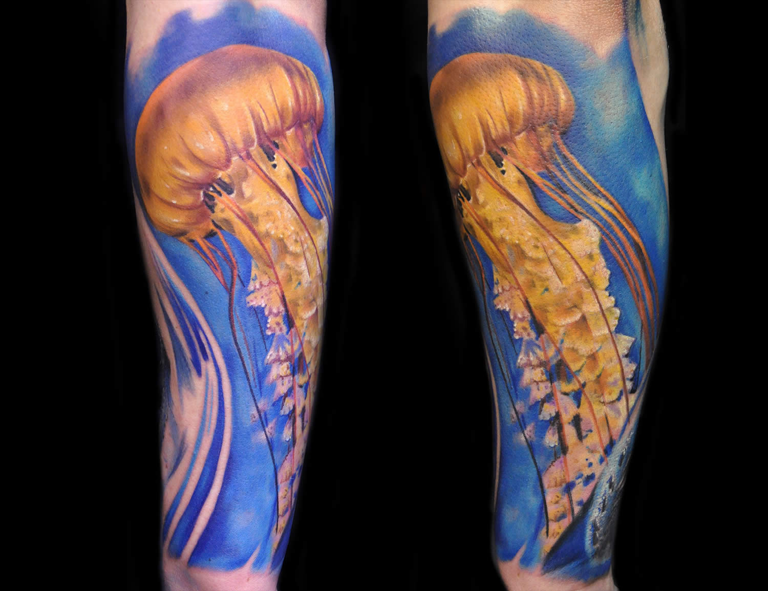jellyfish tattoo
