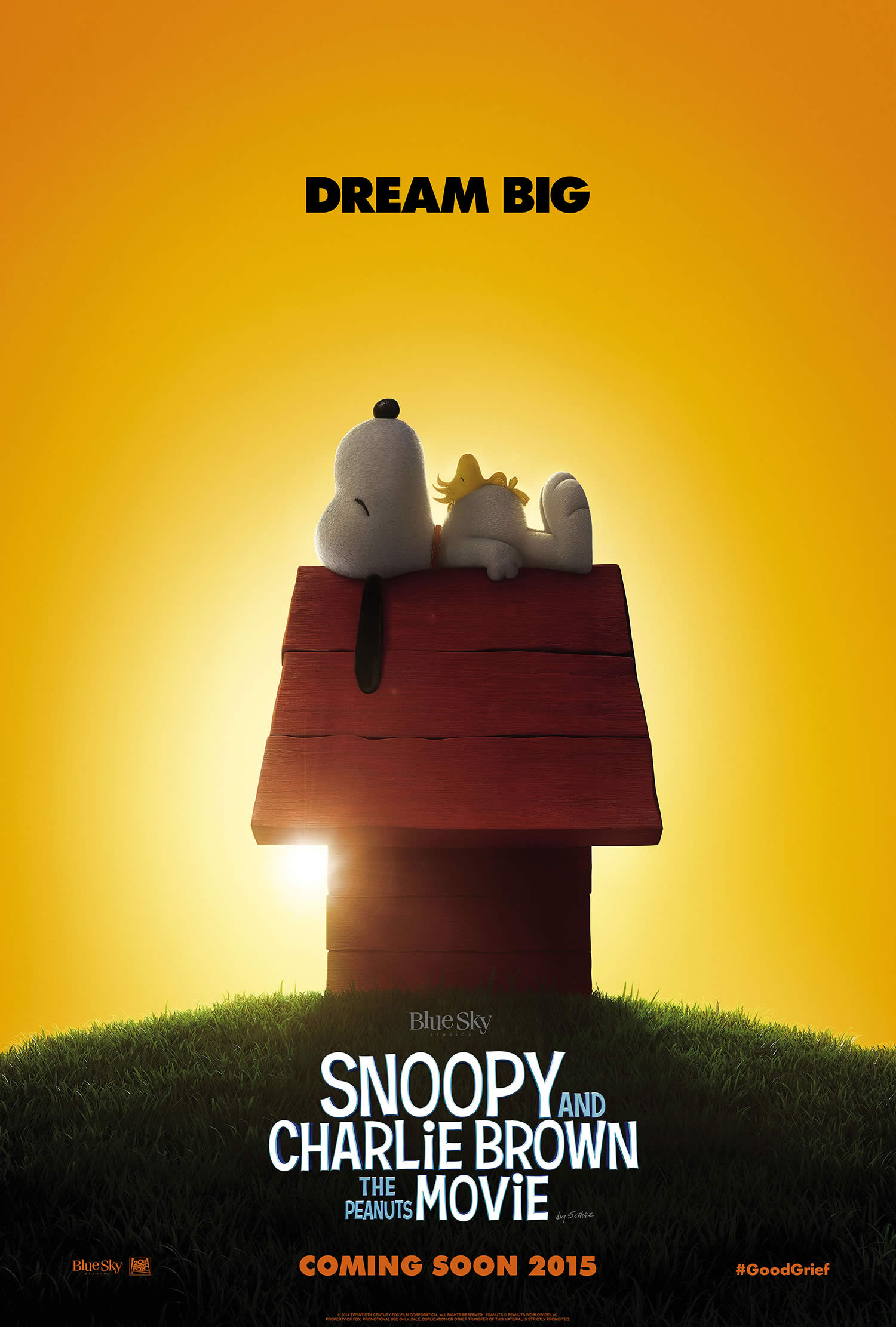 snoopy movie poster