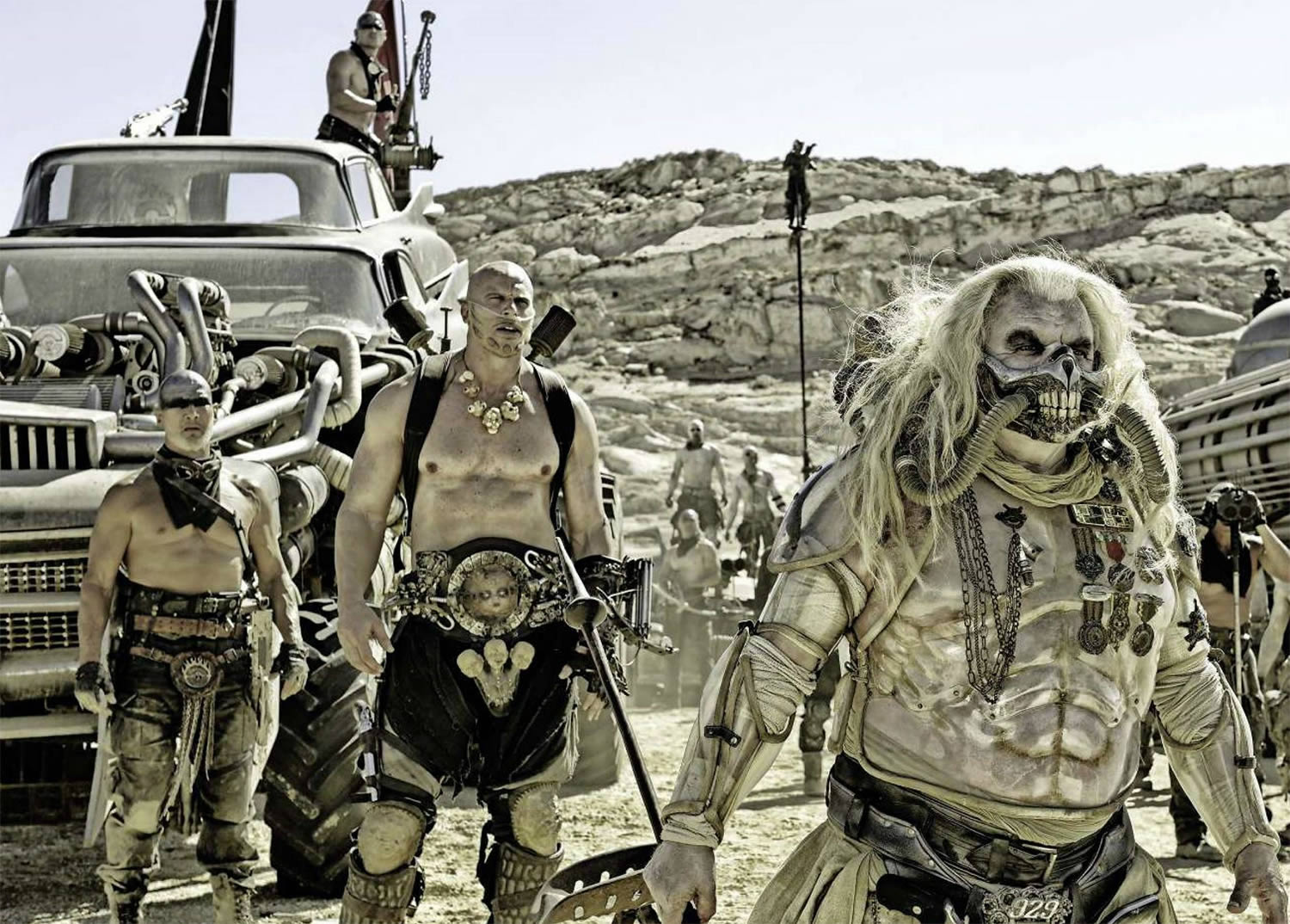 incredible villians in max mad: fury road