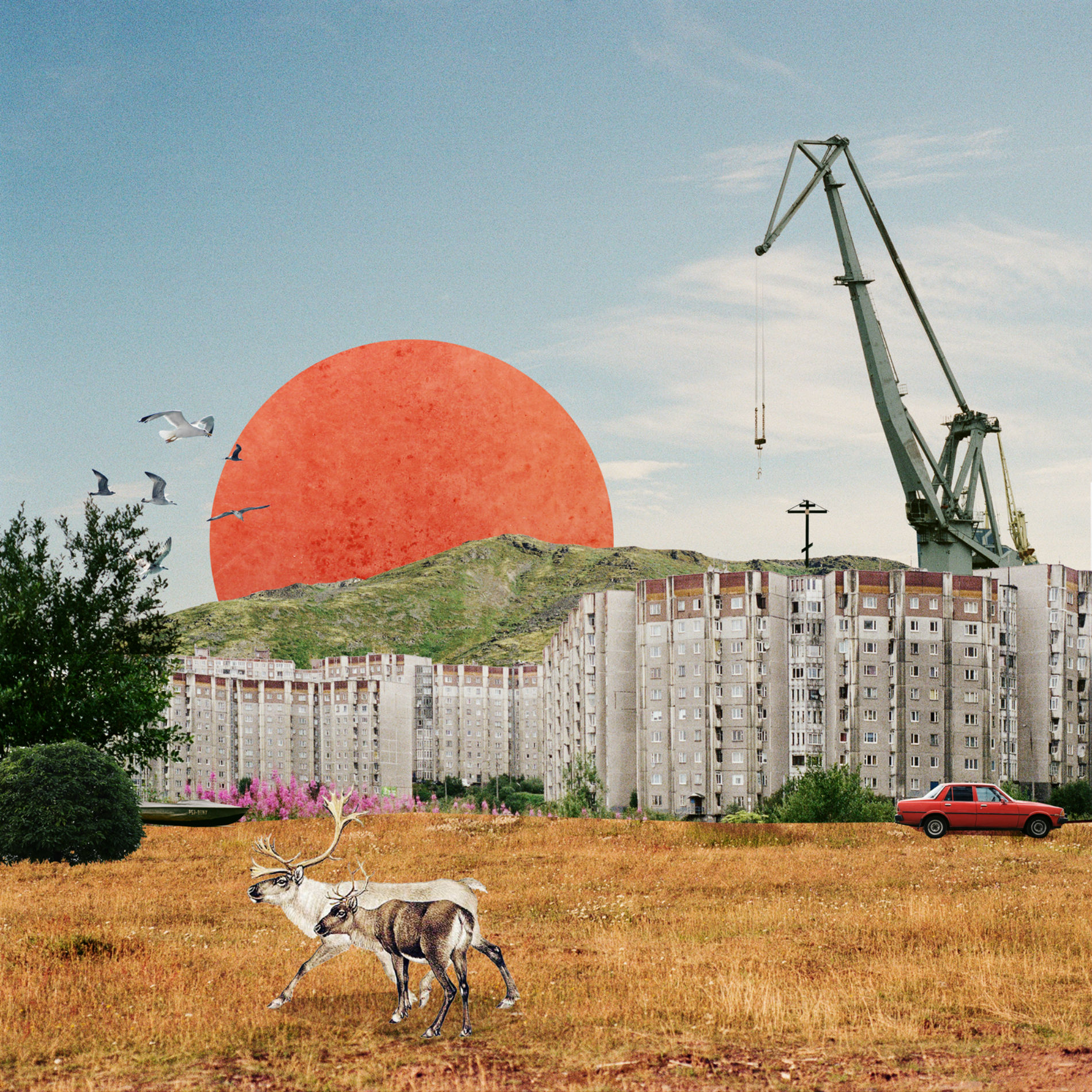 Artist Creates Beautiful Digital Collages