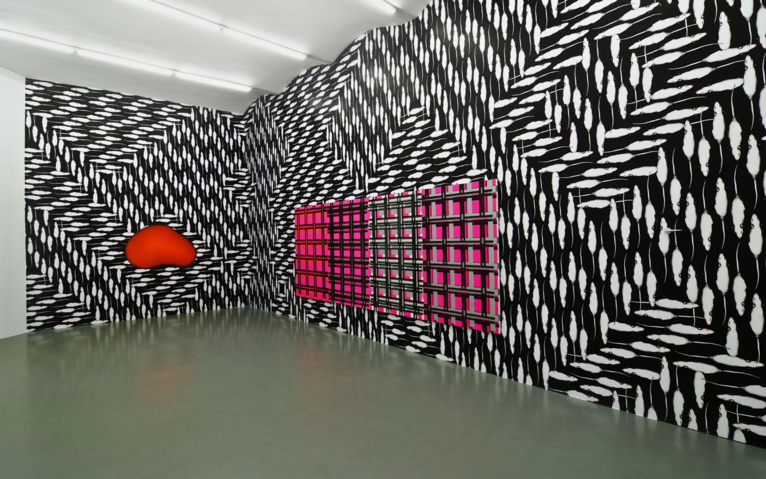 peter kogler spacial illusions walls interior