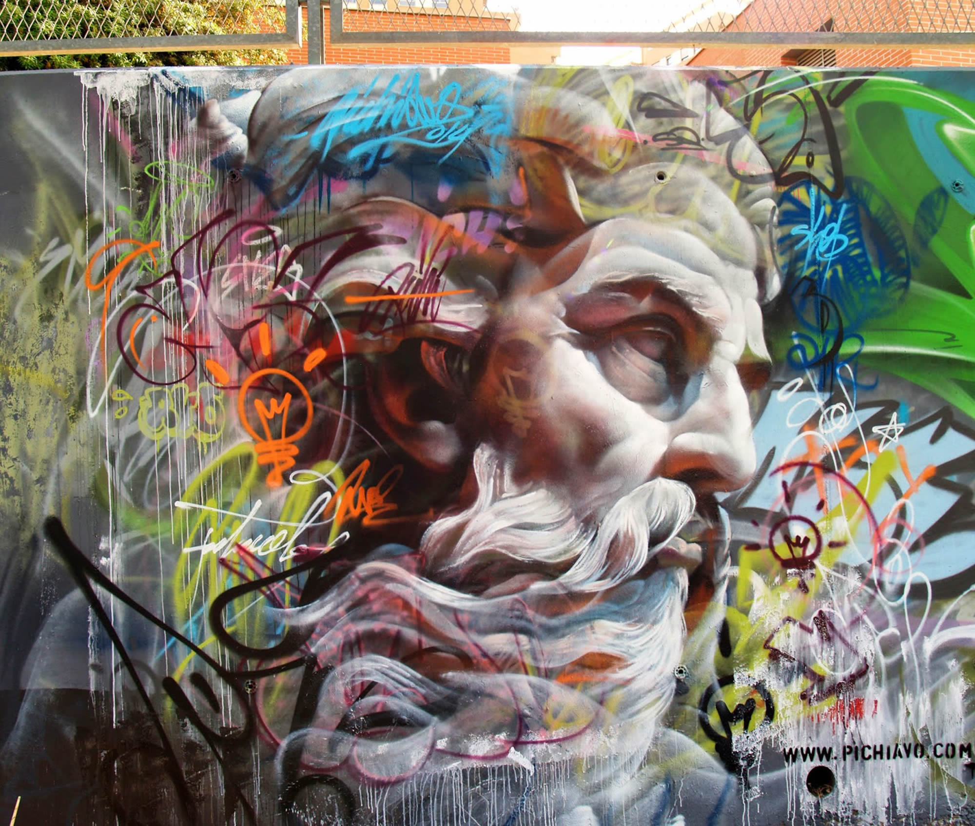 Pichi&Avo: Graffiti Art x Greek Mythology