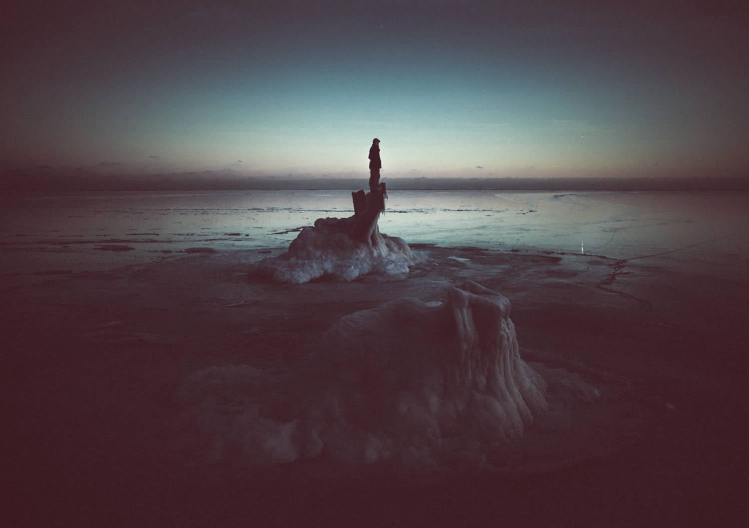 at the edge of the world,Reuben Wu