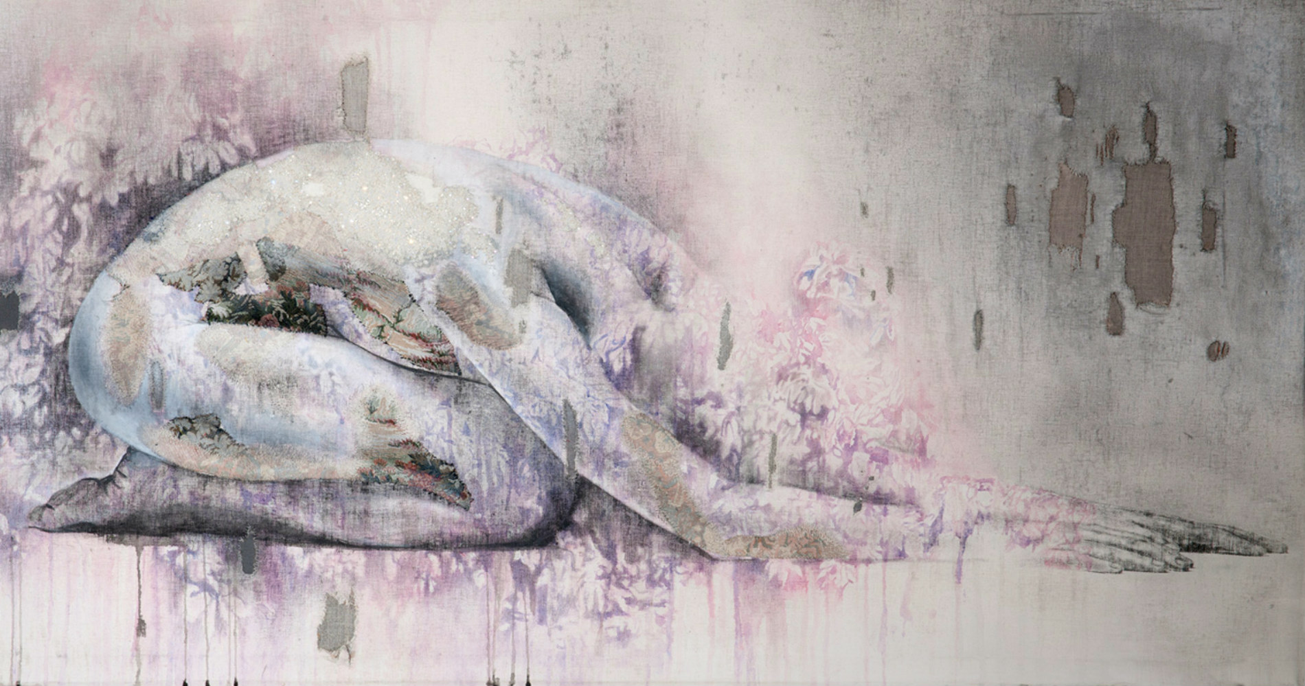 Subtle Paintings of the Body by Anne Von Freyburg