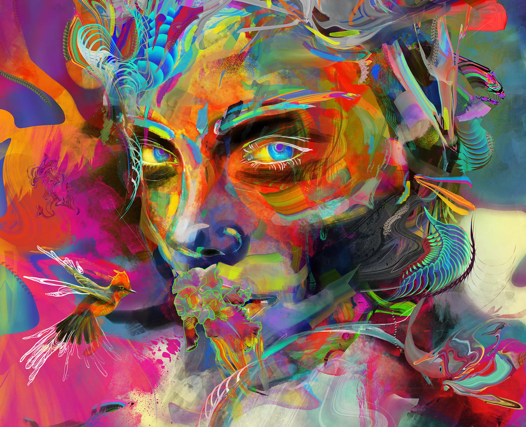 Colorful Digital Art: An Interview with Archan Nair