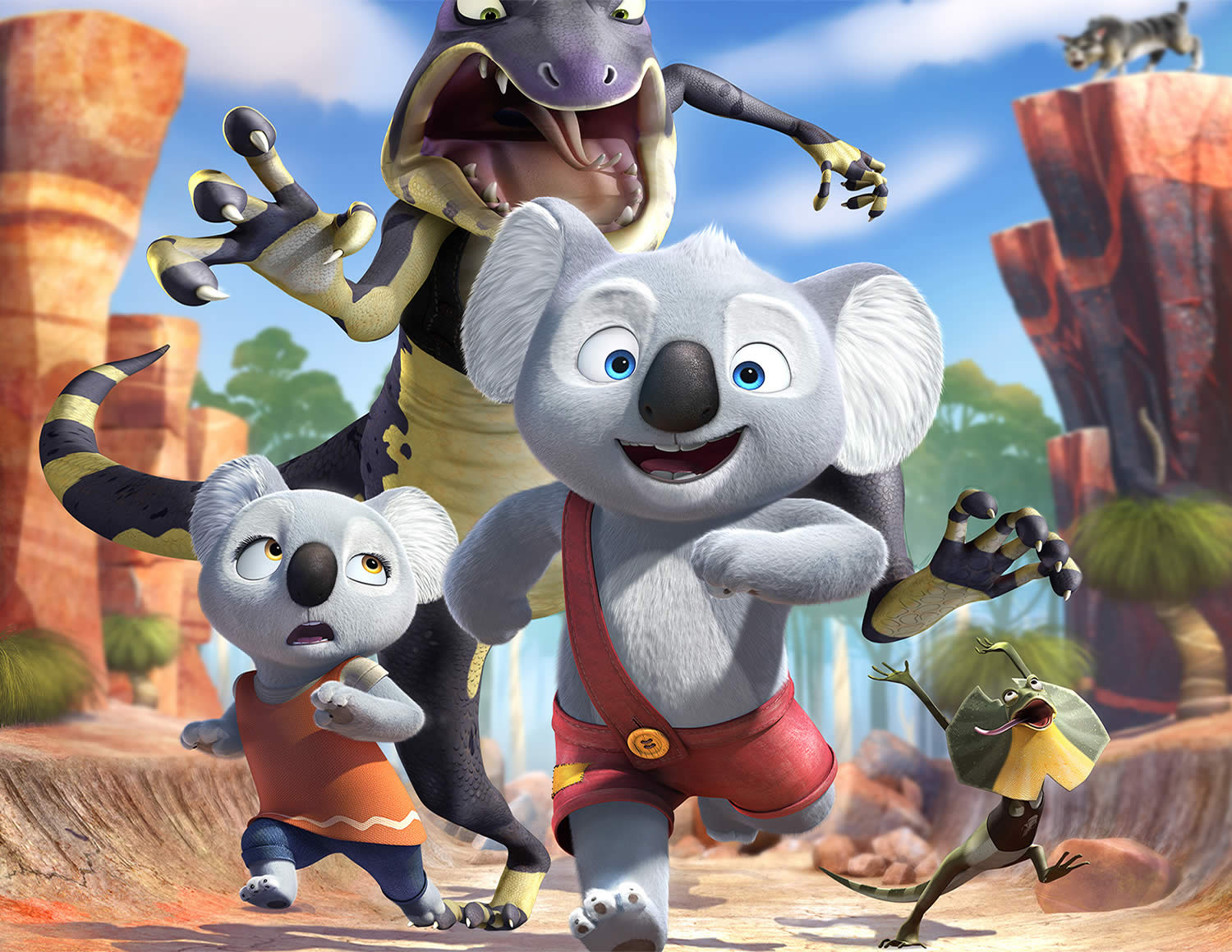 blinky bill movie, koalas on the run