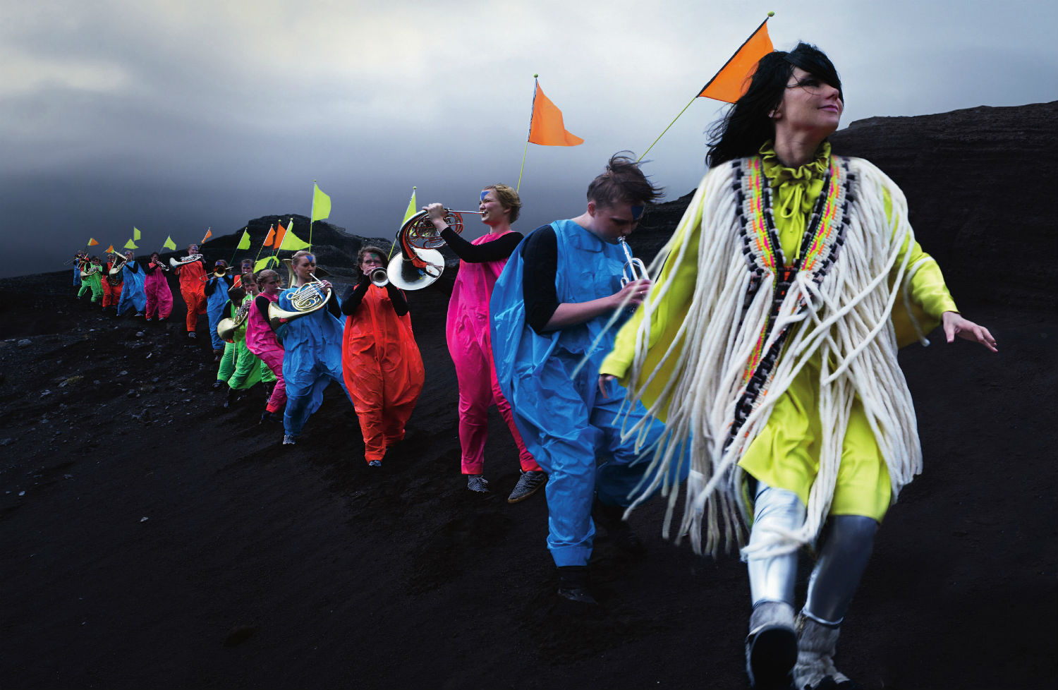 bjork fashion music colour iceland dazed confused