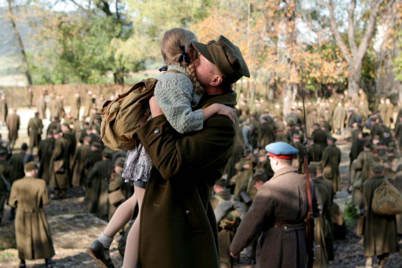 eastern european film katyn poland soldier farewell massacre