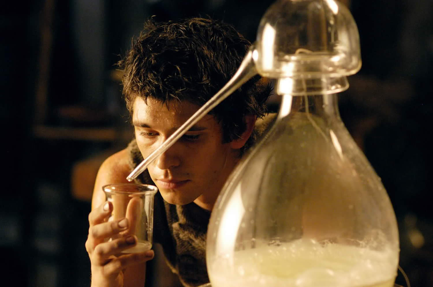 jean baptiste making perfume inPerfume: The Story of a Murderer