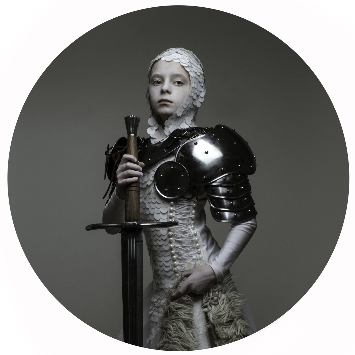 justyna neryng photography lost childhoods costume circle armour knight