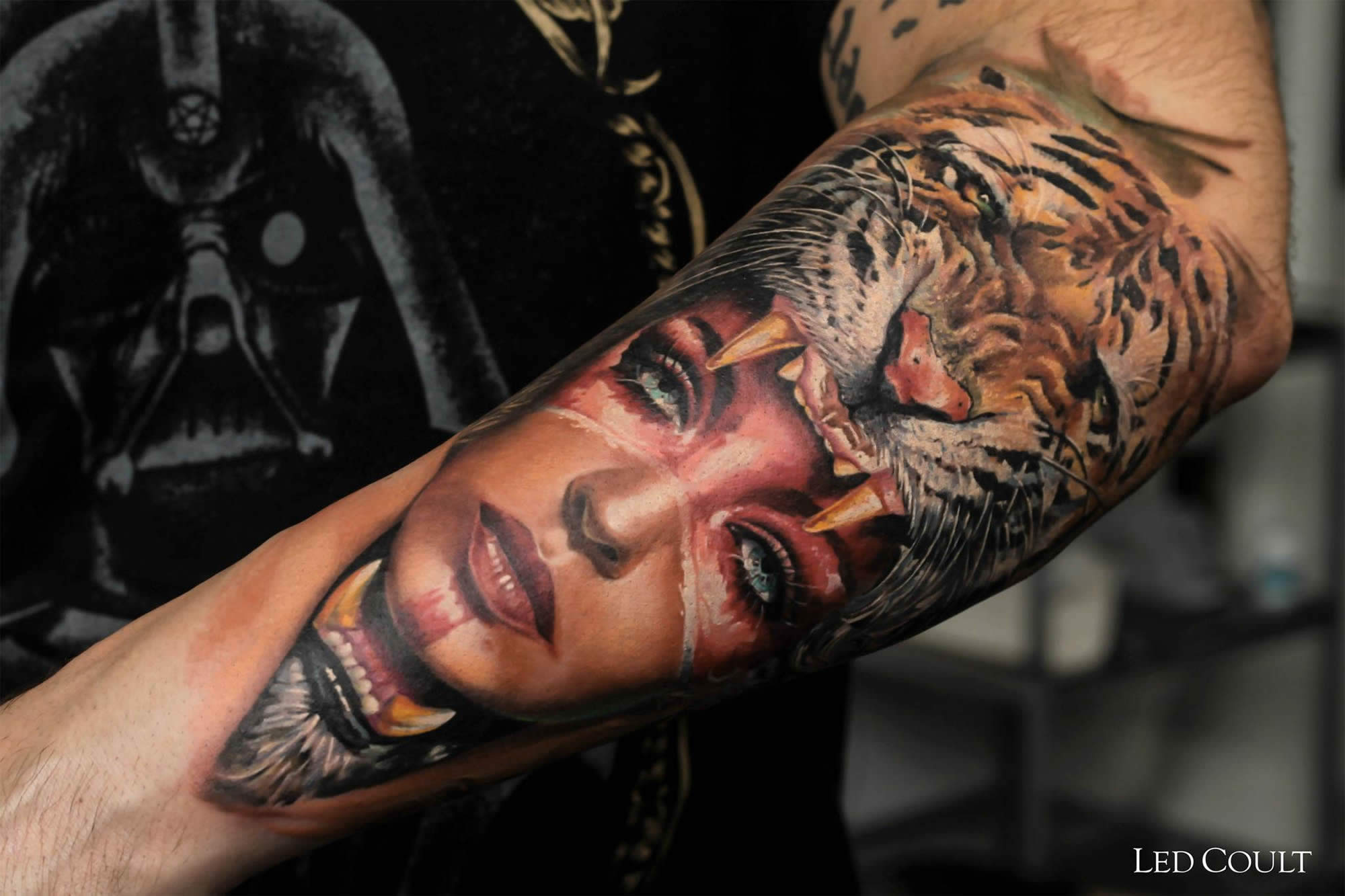 Tattoos by Brazilian Artist Led Coult