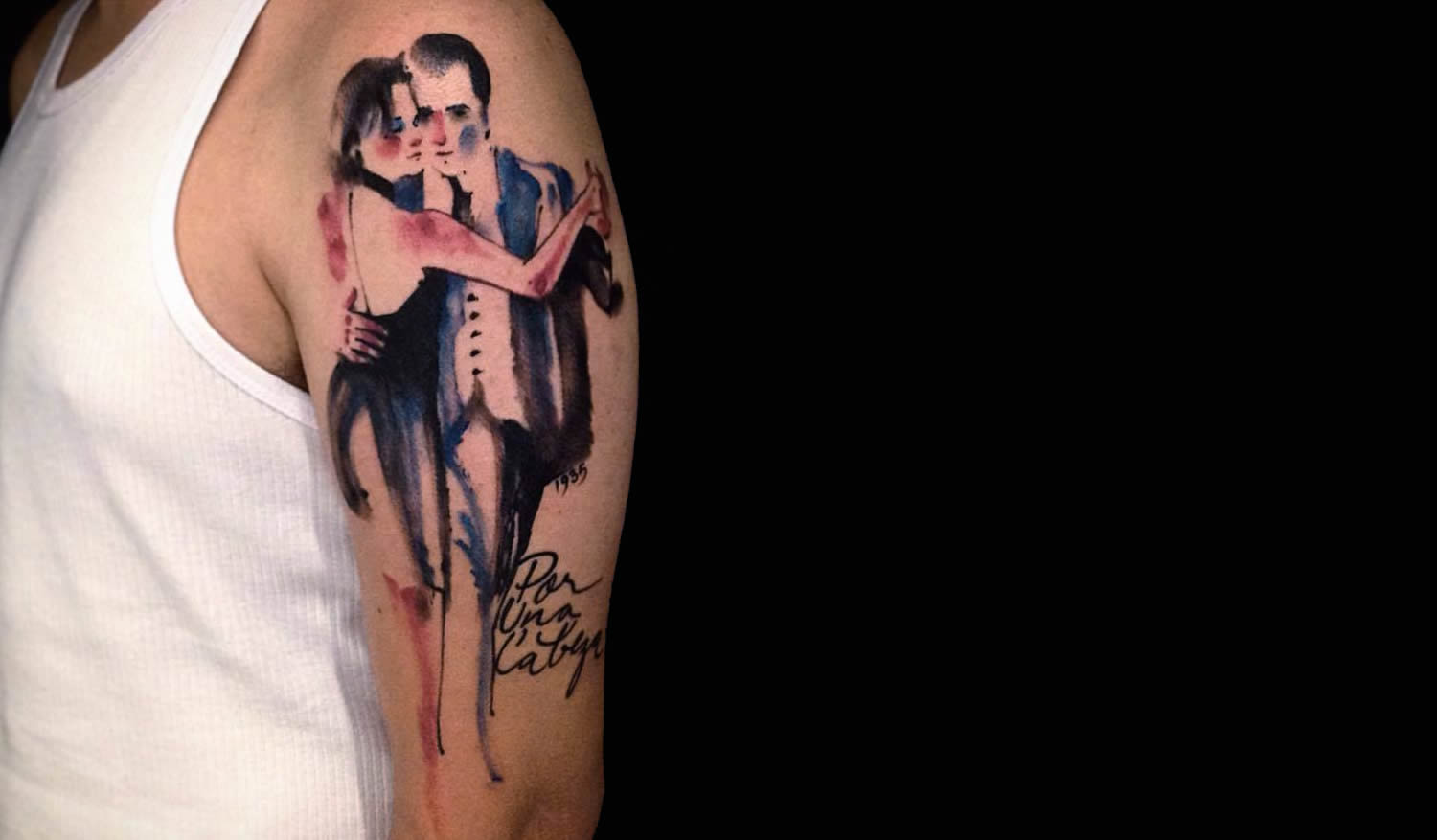 Scent of a woman tattoo by victor montaghini