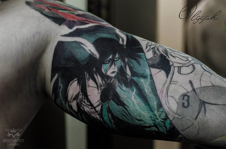 manga character tattoo