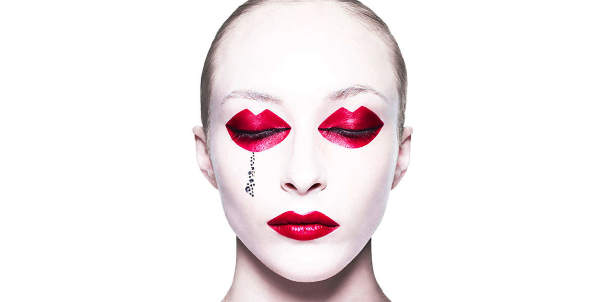 Eccentric Makeup and Photography by Rankin