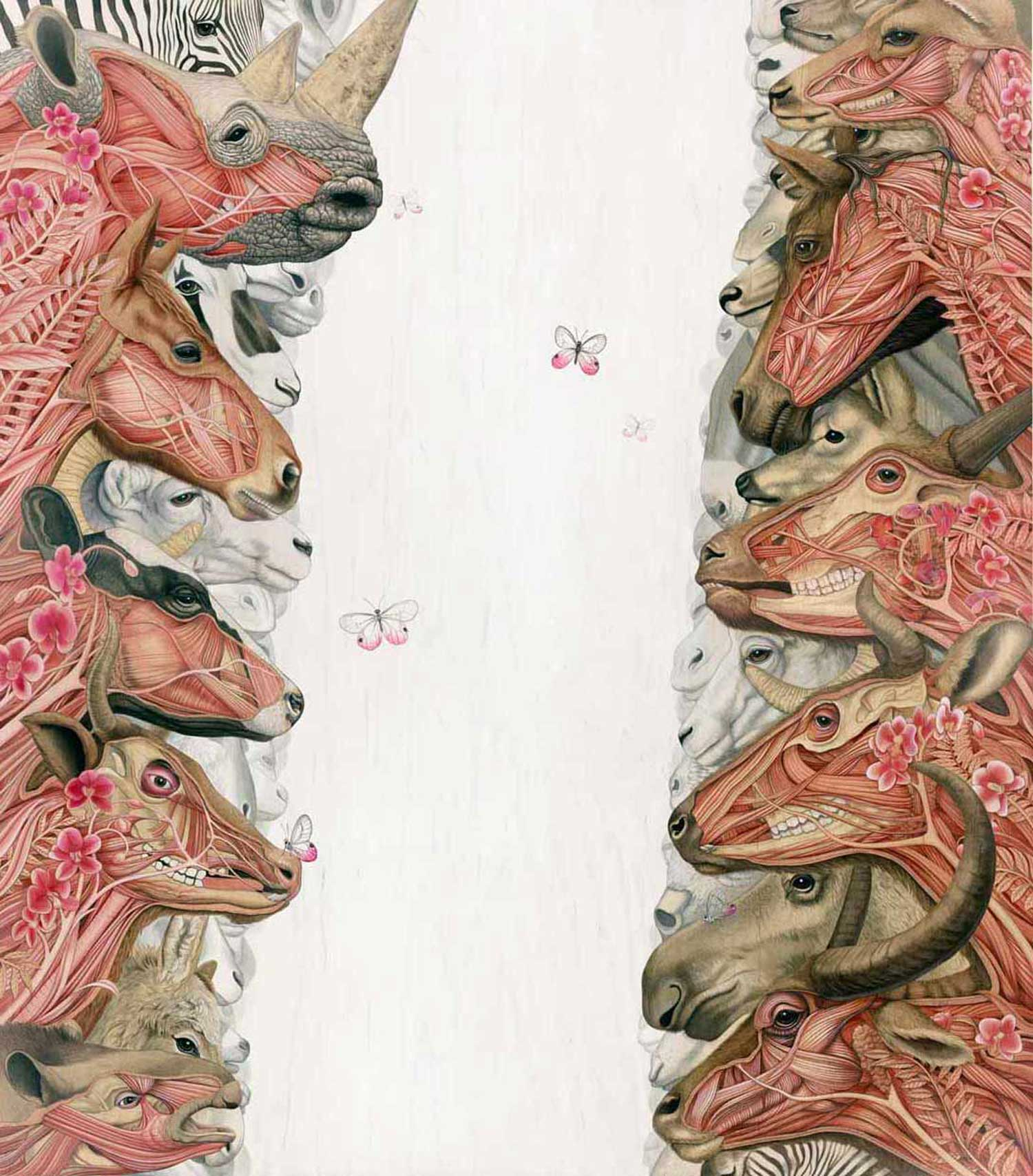 tiffany bozic surreal animals rhino anatomy