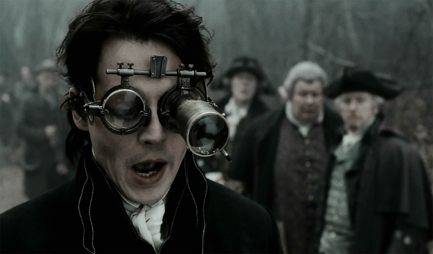 Ichabod Crane (johnny depp) in sleepy hollow