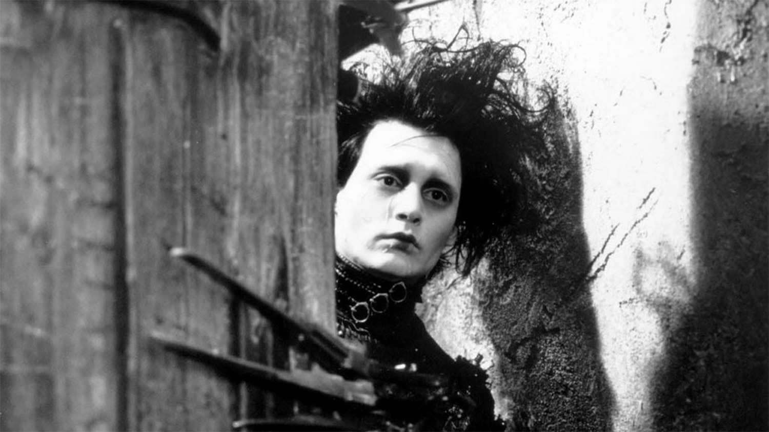 johnny depp as edward scissorhands, german expressionism influence, Dr. Caligari