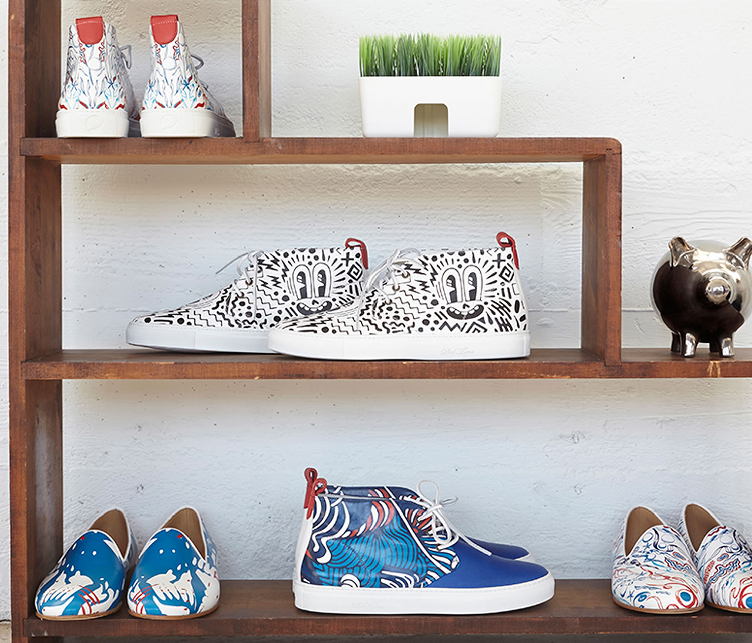 sneakers, painted on, Pepsi Live For Now Capsule Collection