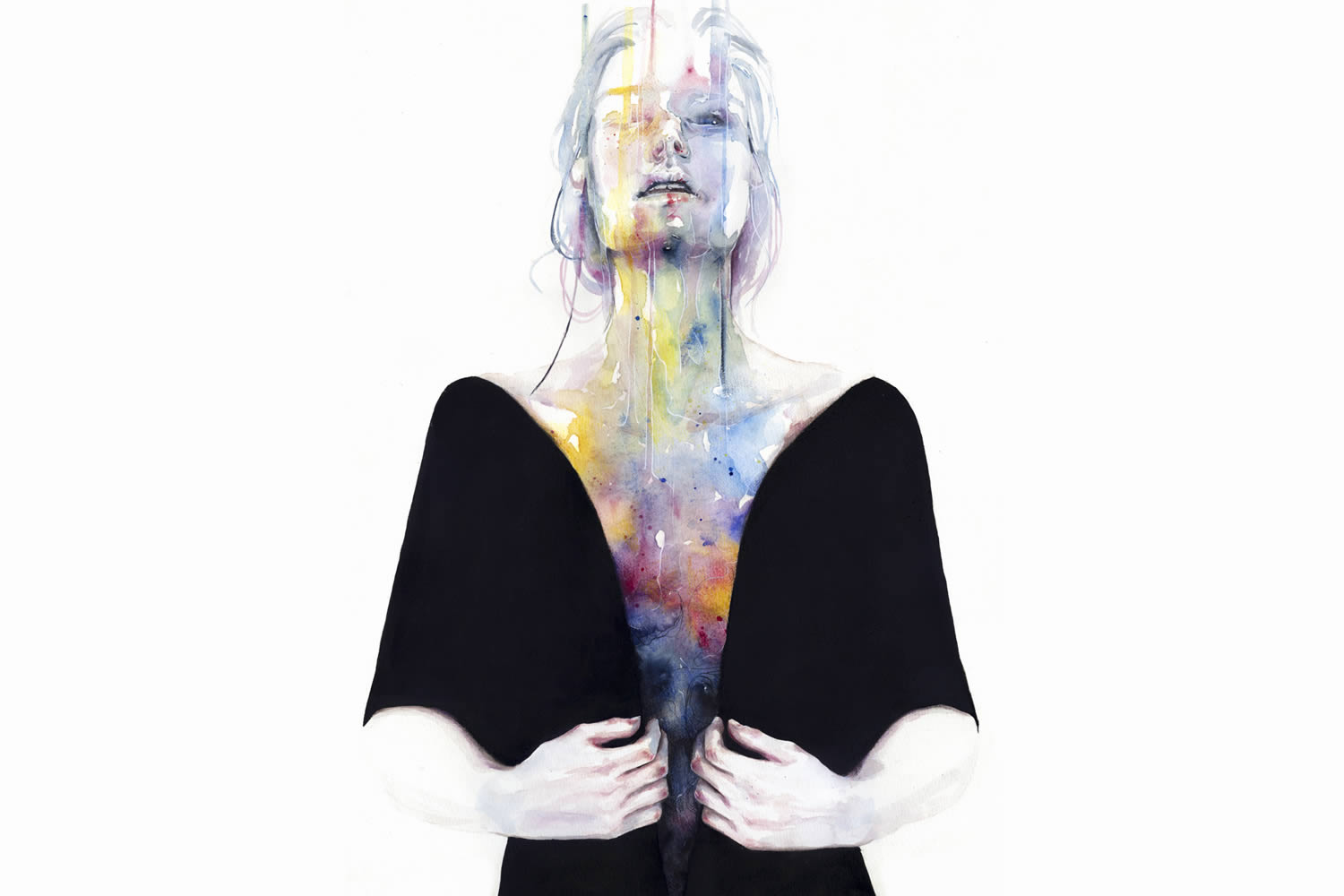 rainbow interior, body, art by agnes cecile