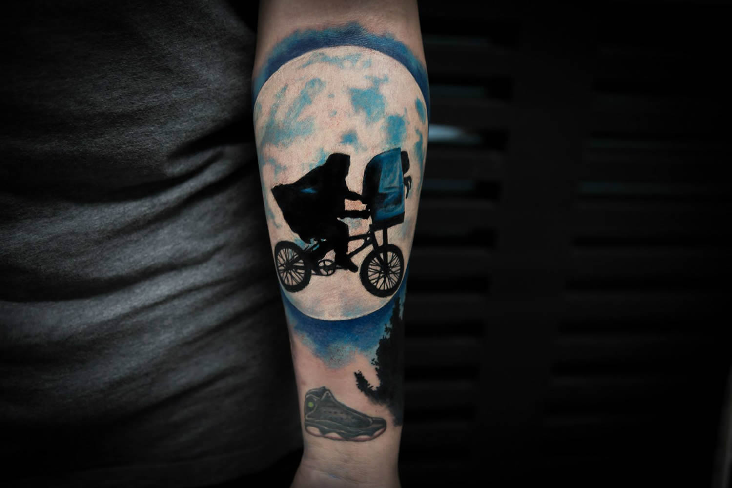 ET tattoo by bang bang