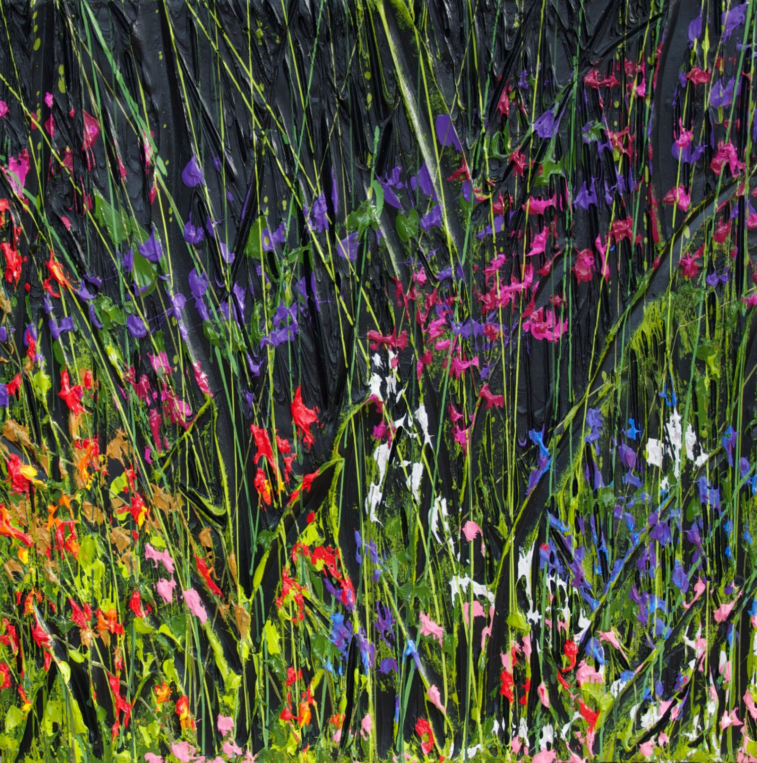 blind painters jeff hanson colour field flowers grass