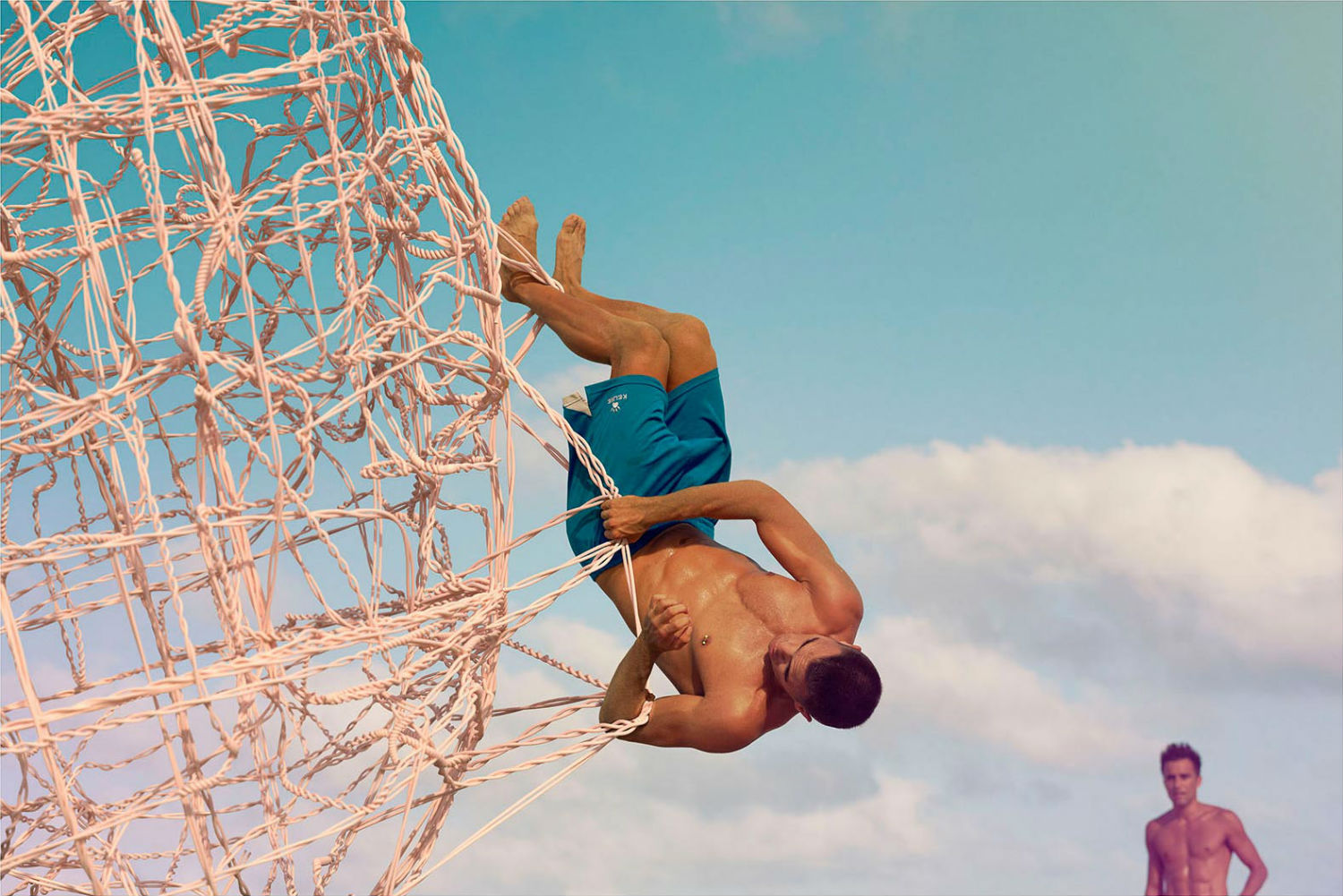 dimitri daniloff meshalogy photography colour beach acrobatics