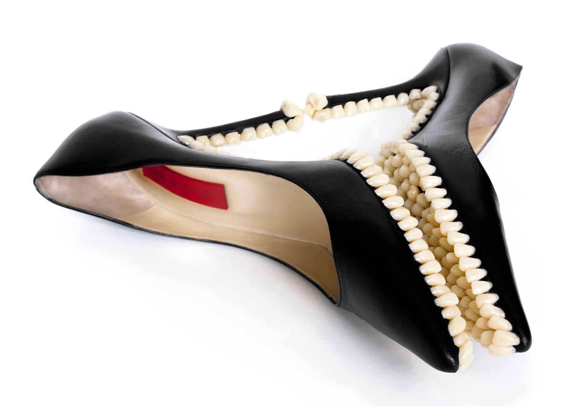 high heels with teeth, FANTICH & YOUNG