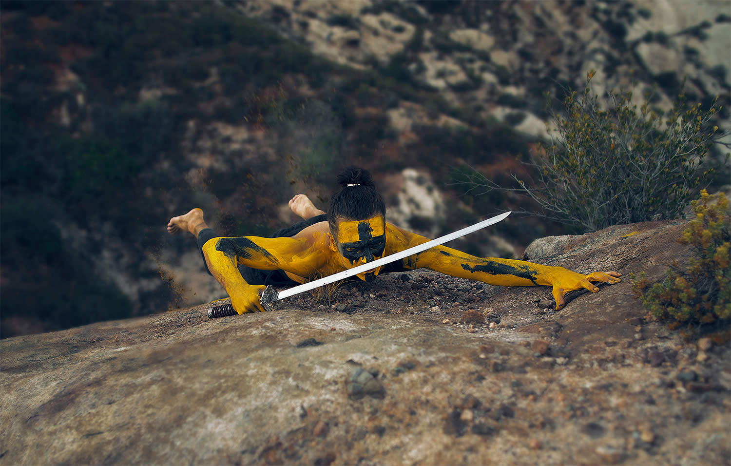 yello samurai, photo by kavan the kid