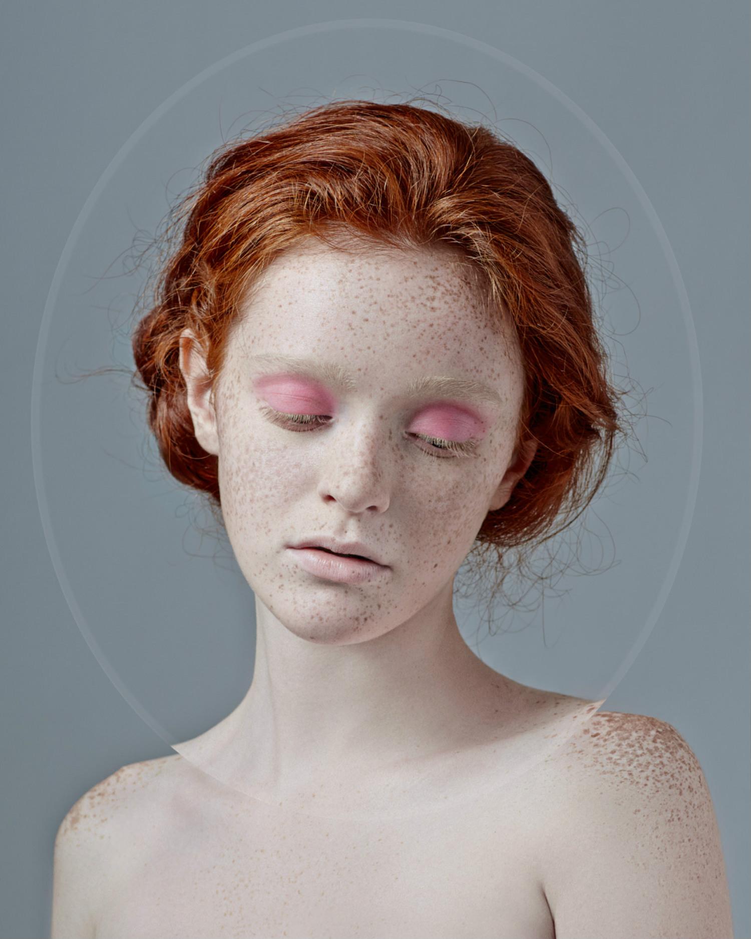 kristina varaksina red hair photographer