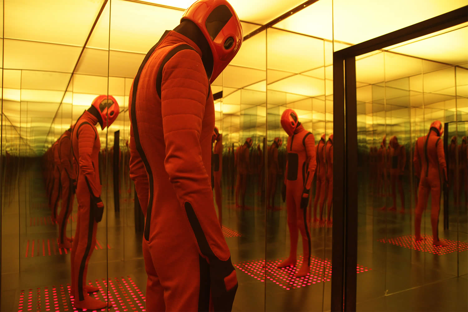 red mask man, Beyond the Black Rainbow