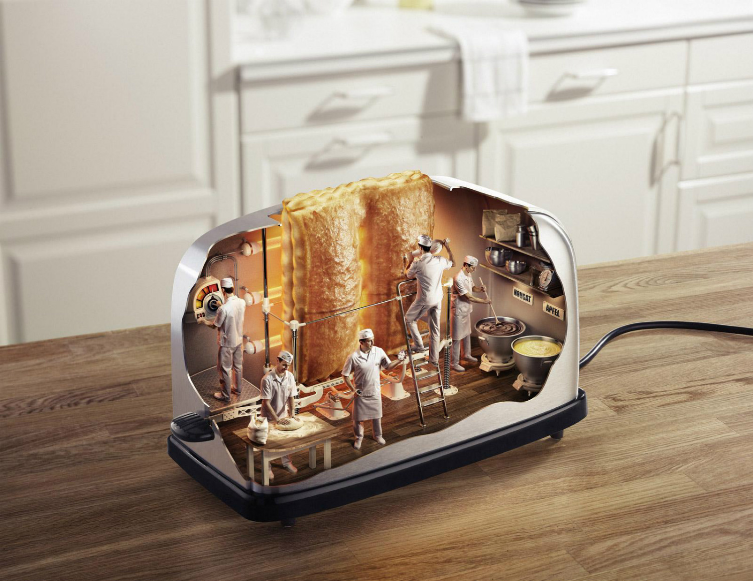 surreal photo manipulations digital toaster staudigner + franke