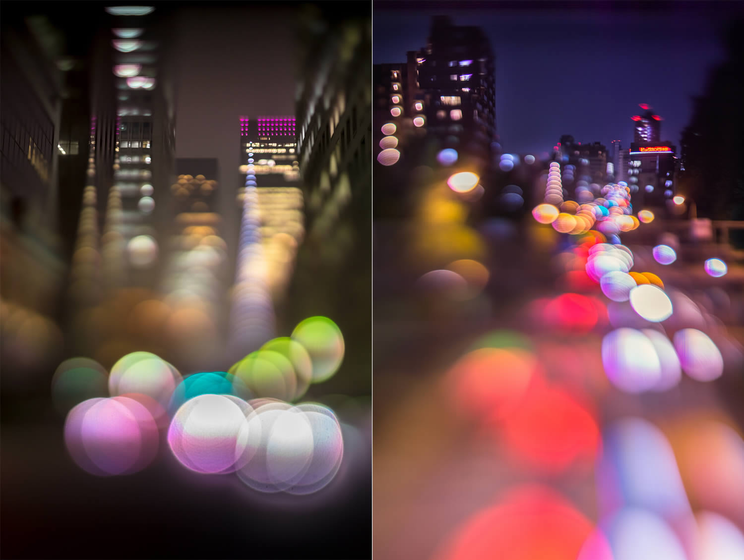 bokeh photography, japan, by Takashi Kitajima