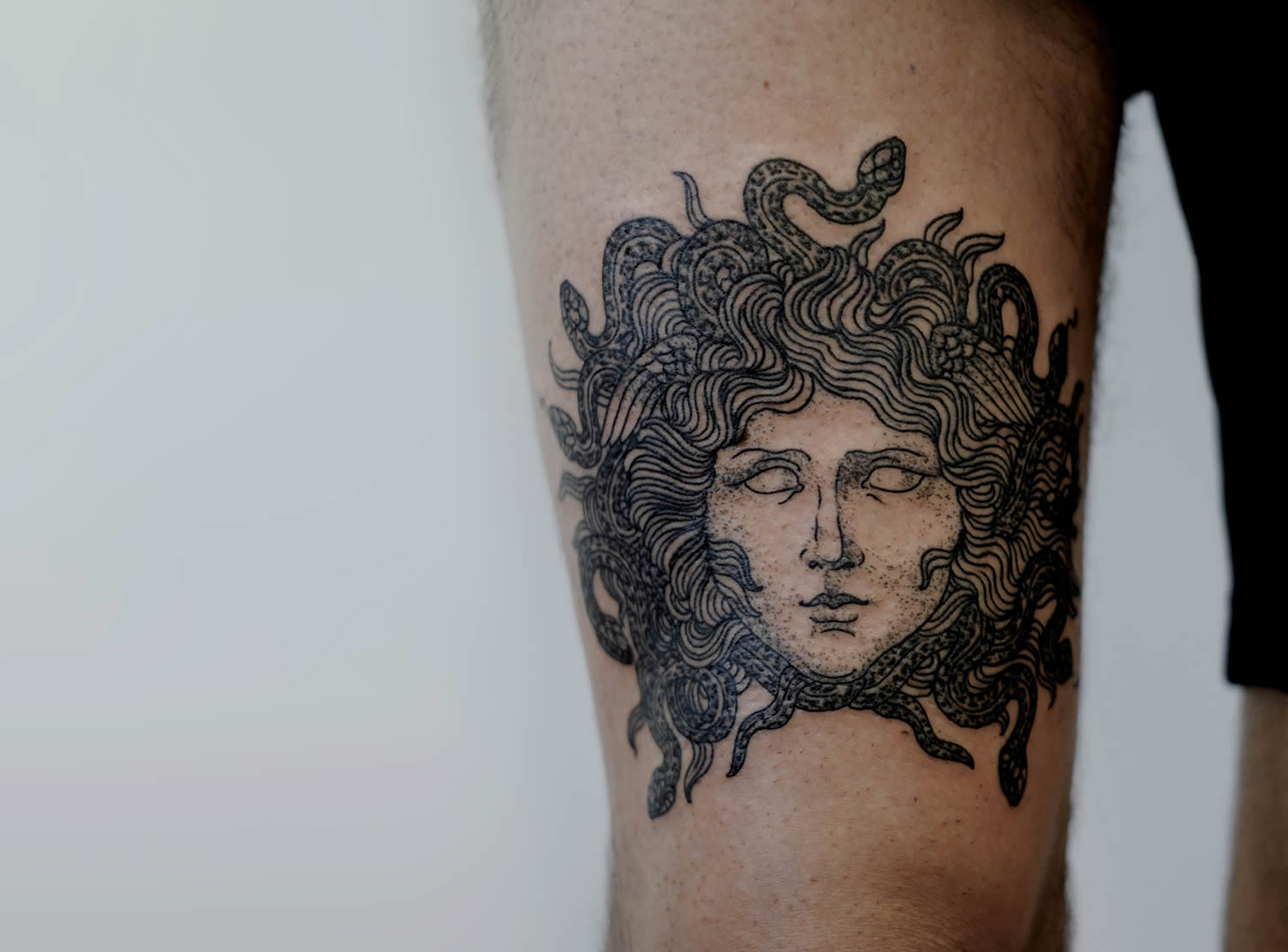 medusa, by victor j webster