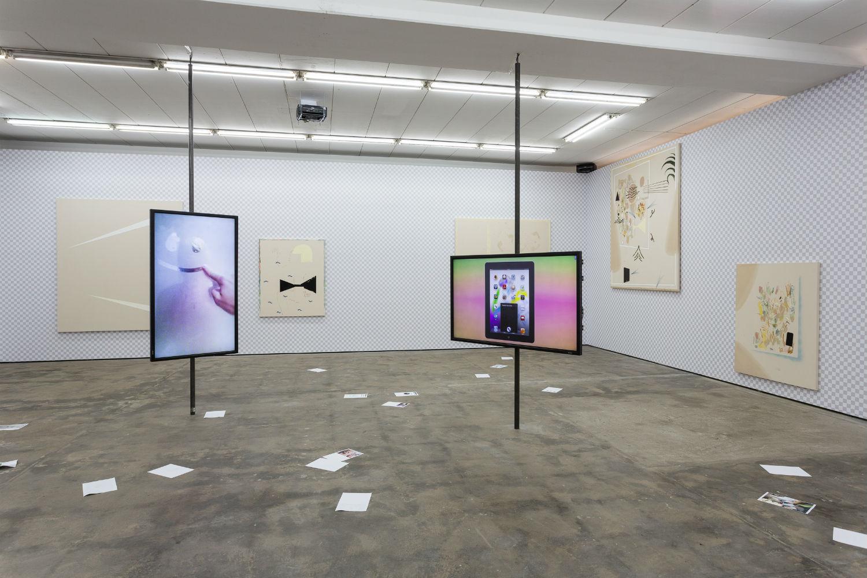 Florian Meisenberg artist painting computer gallery
