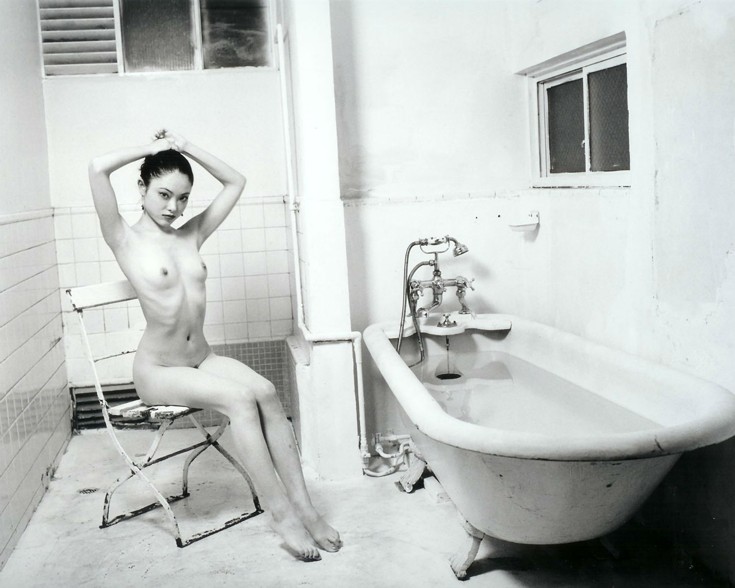 Nobuyoshi Araki photographer black white nudity erotic