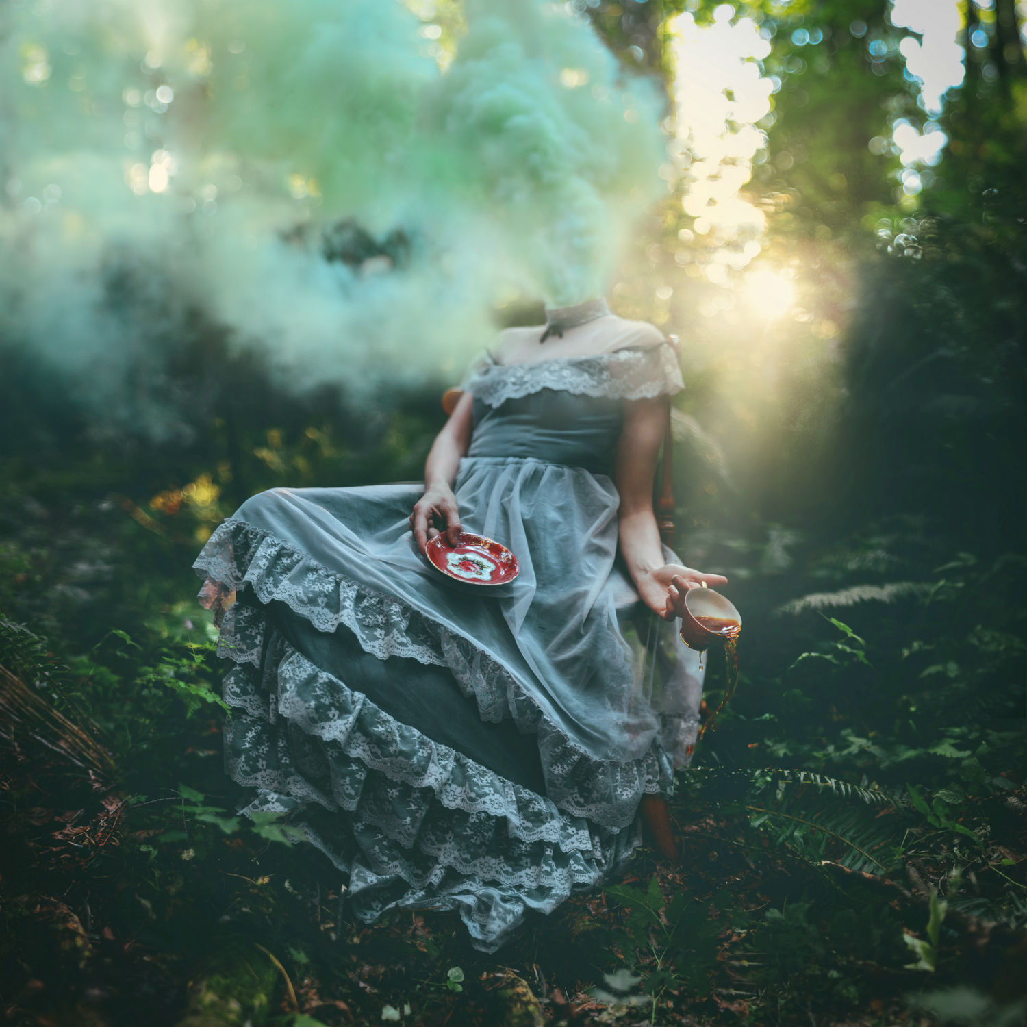 kindra nikole photography surrealism colour fashion model nature