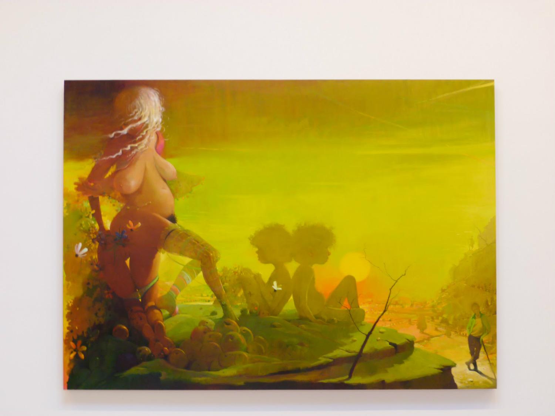 lisa yuskavage paintings nude erotic controversial nyc