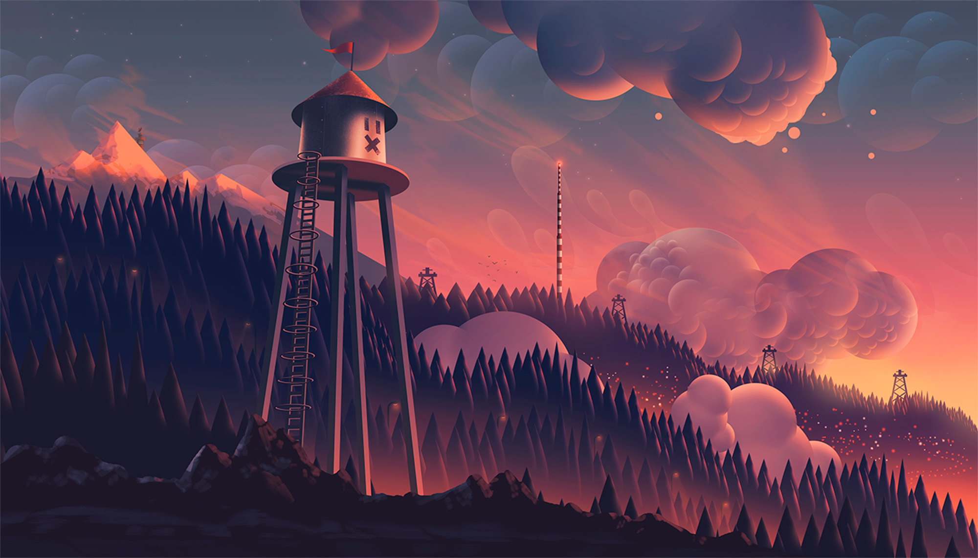 Enter the Magical World of Illustrator Aaron Campbell