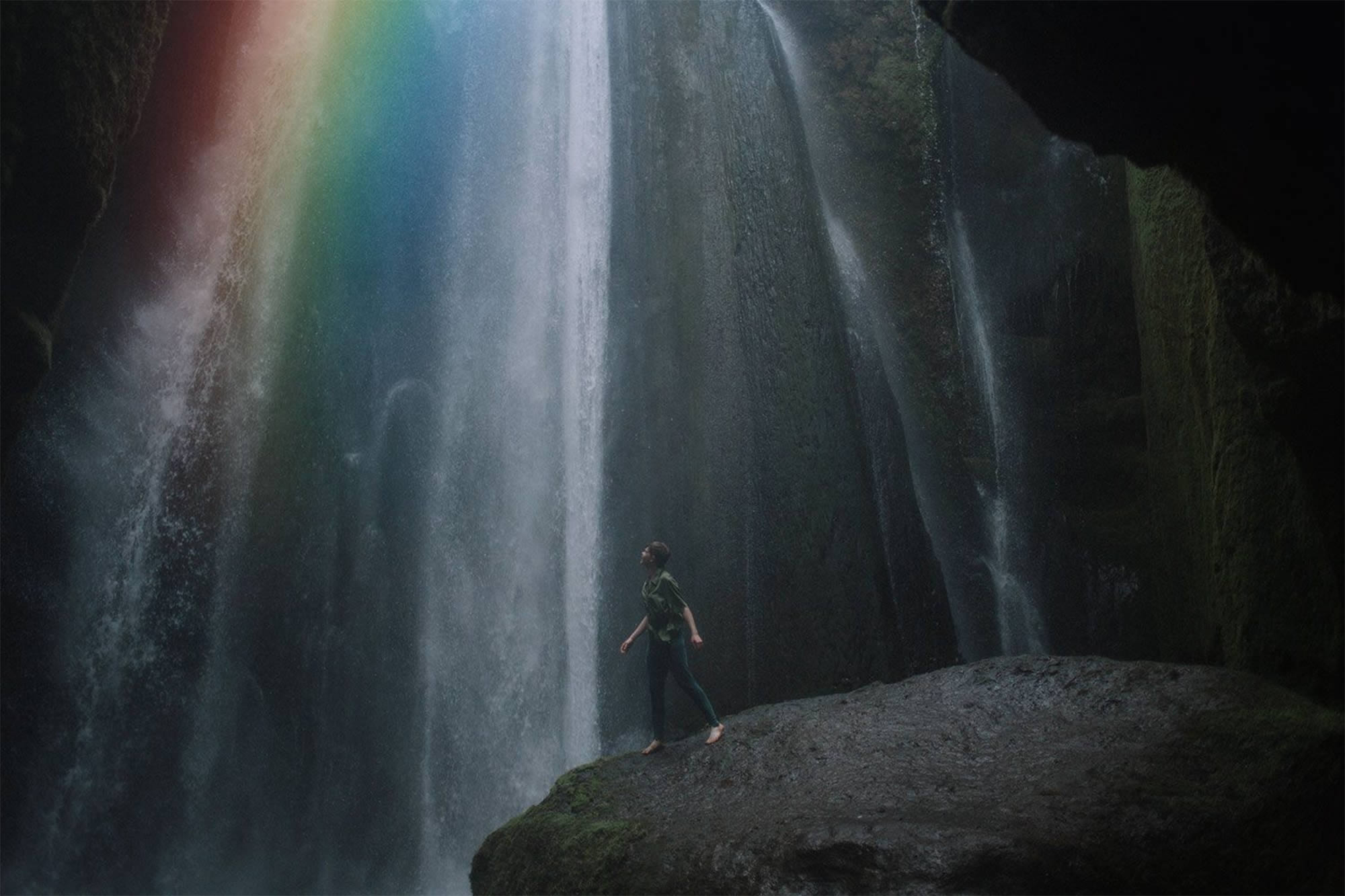 rainbow fall by alex currie