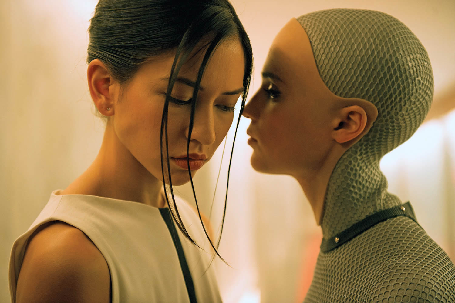 robot girl in ex machina by alex garland