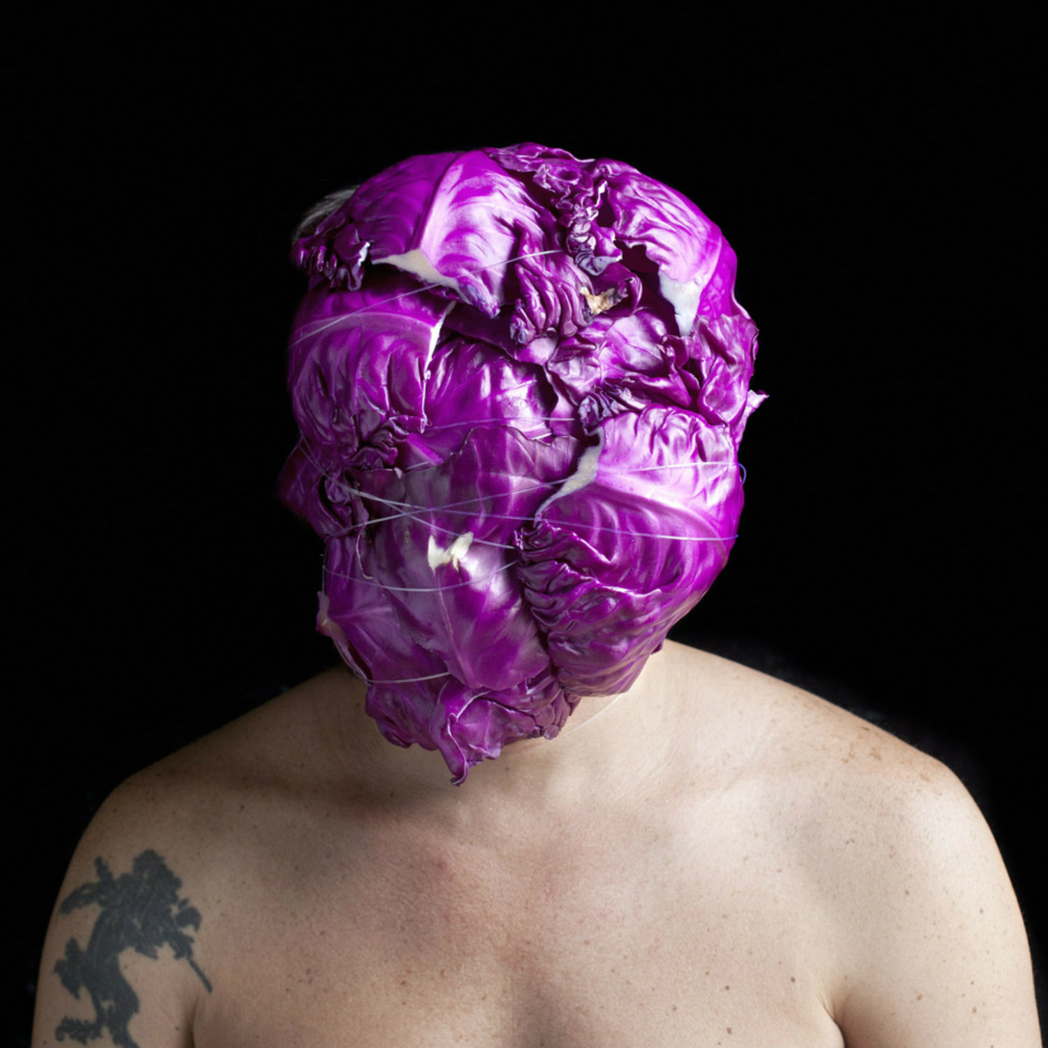 edu monteiro photography portrait gross junk body purple