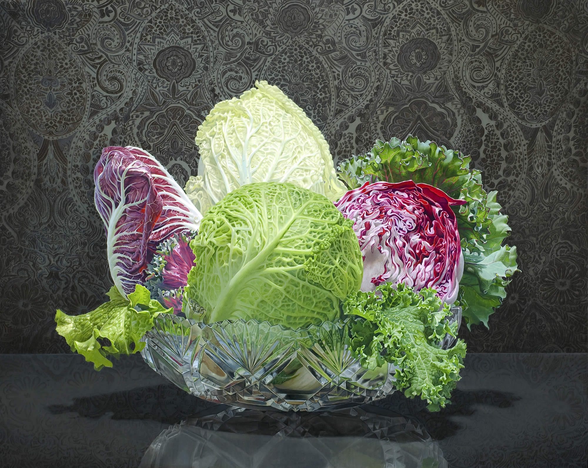 Eric Wert's Beautiful Still Lifes of Fruit and Vegetables