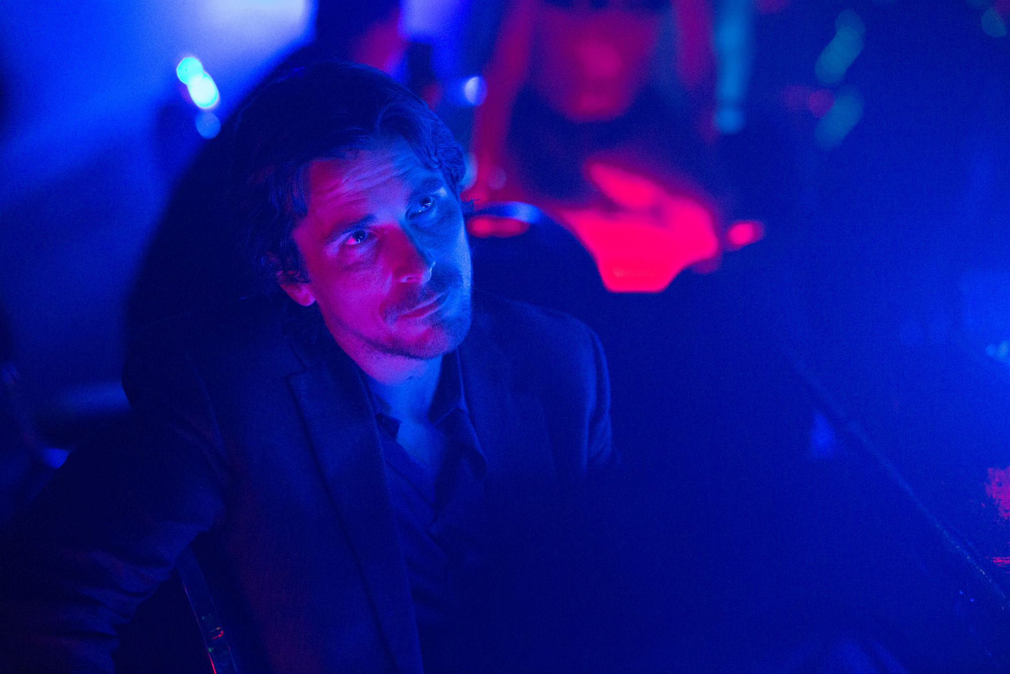 knight of cups christian bale neon colour