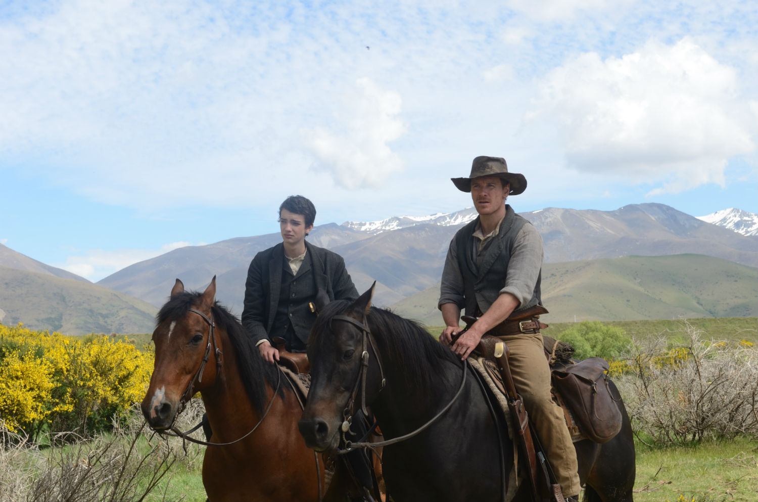 slow west film 2015 horses michael fassbender