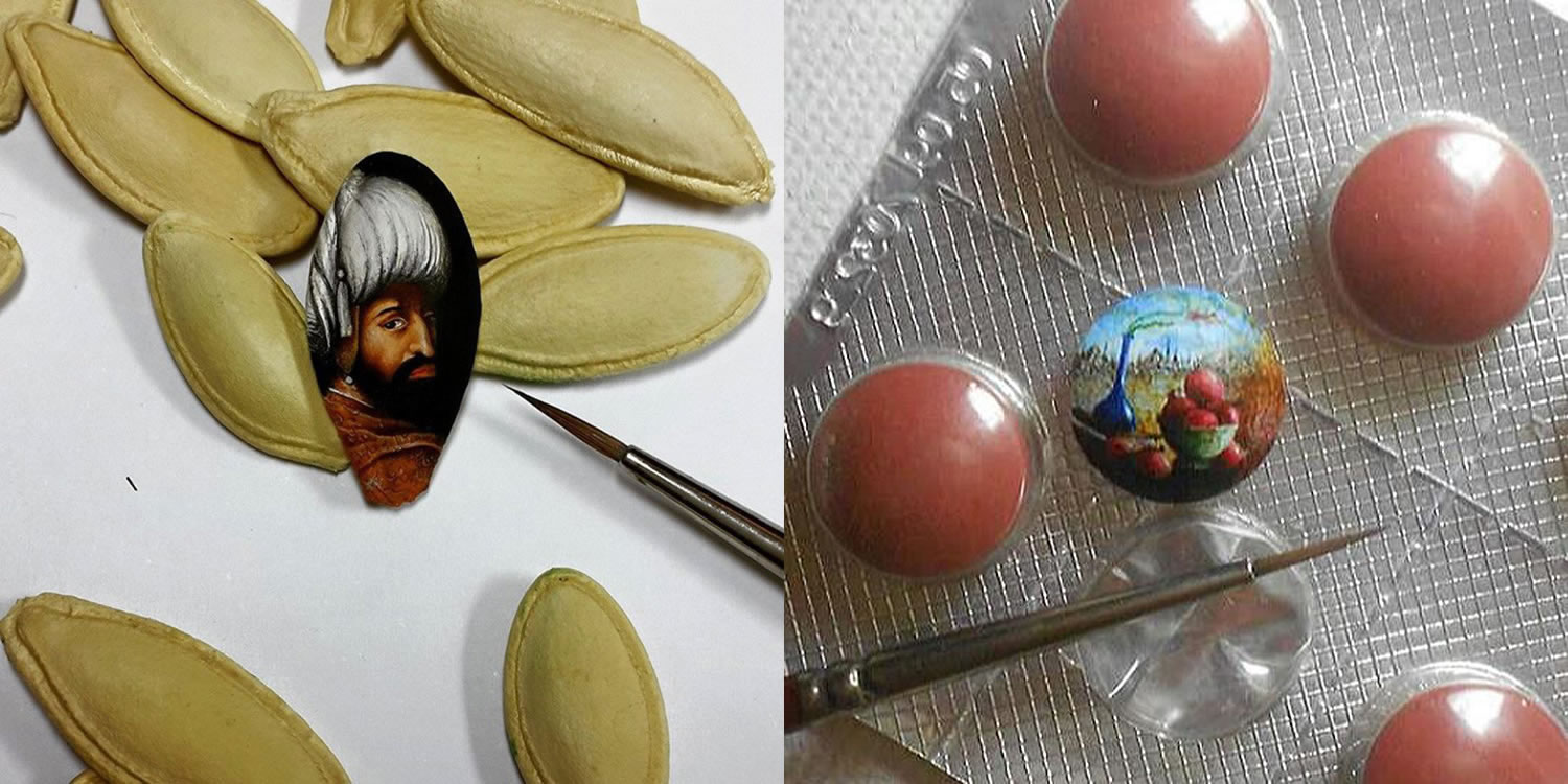 food art by hasan kale